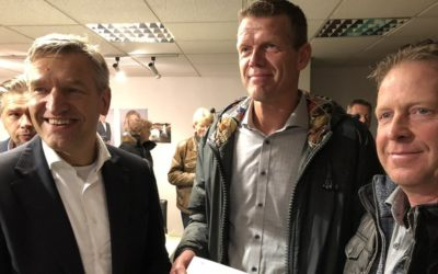 """Buma (CDA) vind Holwerd aan Zee """"een mooi plan"""""""