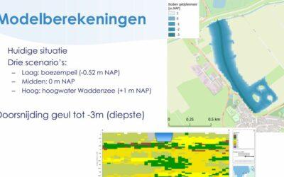 Eerste tussenresultaten hydrologisch onderzoek gepresenteerd